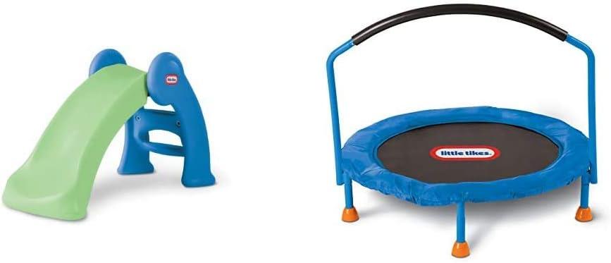 Little Tikes Junior Play Slide  Tikes 3' Trampoline – Amaz