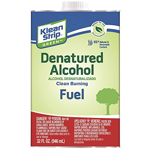 Klean-Strip Green QKGA75003 Denatured Alcohol – 1 qt.
