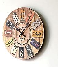 ساعة خشب انالوج
