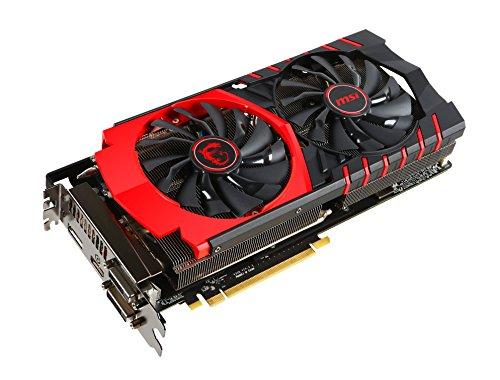 MSI V308-040R AMD Radeon R9 390X Gaming 8G Grafikkarte (PCI-e, 8GB GDDR5 Speicher, DVI, HDMI, DisplayPort)