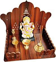 Engineered Wood Home Temple.Wooden Wall Hanging Temple for Home and Shop ,Office and home showpiece temple