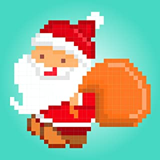 Christmas Color By Number - Coloring Christmas Adult Games