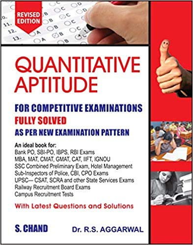 Quantitative Aptitude Fully Solved Book in English By Dr. R...