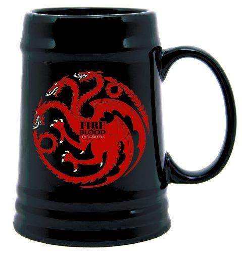 Dark Horse Deluxe Game of Thrones Ceramic Stein: Targaryen Sigil