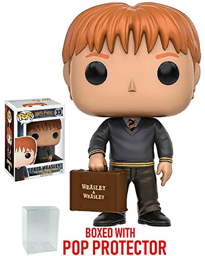 Funko Pop! Movies: Harry Potter - Fred Weasley Vinyl Figure (Bundled with Pop Box Protector Case) image