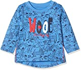 blue seven Mini Jungen Langarmshirt Hund Camisa Manga Larga, Azul (Blau Orig 523), 62 para Bebés