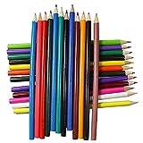 24 colori matite colorate in legno artista pittura a olio matita for il disegno a scuola schizzo arte forniture matite colorate