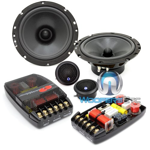 Best Price CL-61 - CDT Audio 6.5 160W RMS 2-Way Component Speakers System