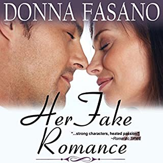 Her Fake Romance audiobook cover art