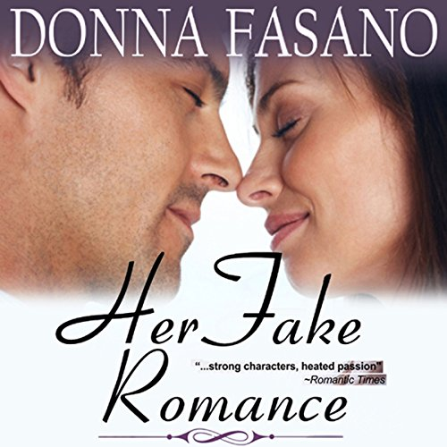 Her Fake Romance audiobook cover art