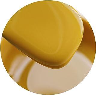 Solid Gel Polish, 3 Series Yellow Enthusiasm Unrestrained Orange Horizon Nail Gel, for Nail Art Design Salon 4 Ml (Require...