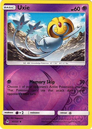 Uxie - 41/131 - Uncommon - Reverse Holo - Forbidden Light