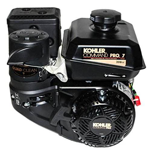 Kohler 7hp Command Pro Engine, 2:1 Clutch Gear Reduction 22mm Keyed Shaft, Recoil Start, Fuel Tank, Muffler