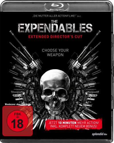 The Expendables - Extended [Blu-ray] [Director's Cut]