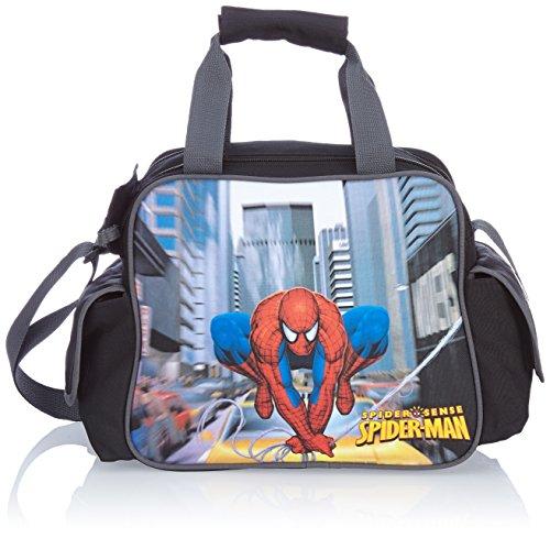 Disney schoudertas jongens Spiderman, zwart, 35 x 15 x 25 cm, 13 liter, 20246-0100