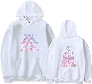 Monsta X Hoodie Jacket Wonho Jooheon Shownu Minhyuk Hyungwon Yookihyun I.M Sweatshirt Sweater