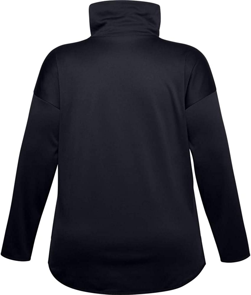 Under Armour Womens Fleece Funnel Neck Pull Over T-Shirt