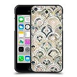 Head Case Designs Oficial Micklyn Le Feuvre Azulejos Art Deco en Pasteles Suaves Patrones de mármol Funda de Gel Negro Compatible con Apple iPhone 5 / iPhone 5s / iPhone SE 2016