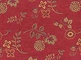 Landhaus Möbelstoff Ellmau Farbe 52 (rot) mit biologischem