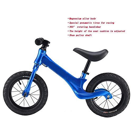 YumEIGE Low Span Low Span Lowwiel Low Span Frame wielen voor peuters van 2-6 jaar maat 31-51 inch kinderloopfiets blauw, oranje, rood blauw