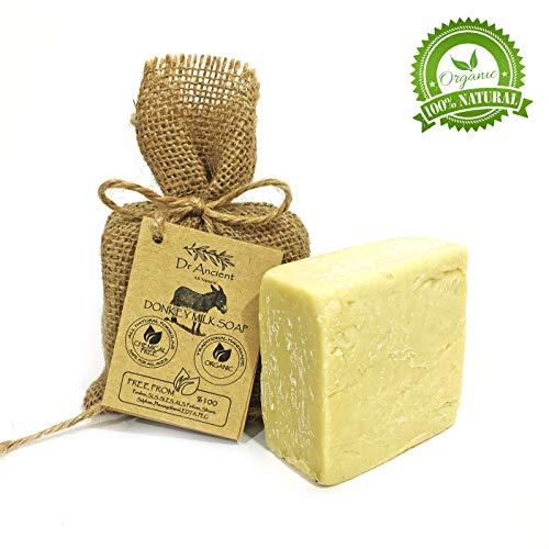 Organische natürliche traditionelle handgemachte antike Ziegenmilch Seife - Anti Aging Skin Lightener, Feuchtigkeitscreme - Keine Chemikalien, reine Naturseifen!