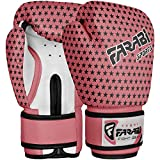 4-oz guantes de boxeo Kids Junior Rosa saco de boxeo de ratón Mitt MMA Kick Boxing Guantes de entrenamiento