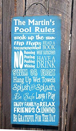 Personalisiertes Pool Regel