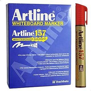 Artline 157 WHITEBOARD MARKER - Red (BOX OF 12 PCS)