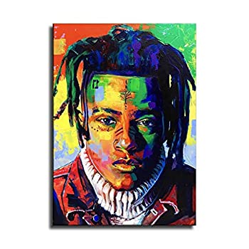 XXX tentacion Canvas Art Poster and Wall Art Picture Print Modern Family Bedroom Decor Posters