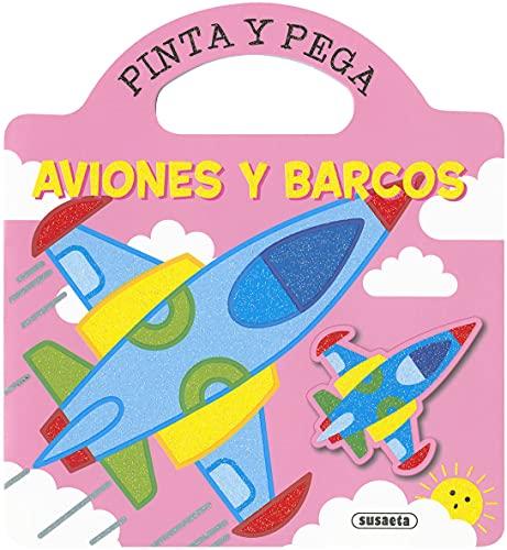 Aviones y Barcos (Pinta y Pega)