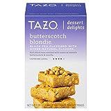 Tazo Butterscotch Blondie Dessert Delights Tea Bags 15 Black Tea filterbags, total 1.28 oz