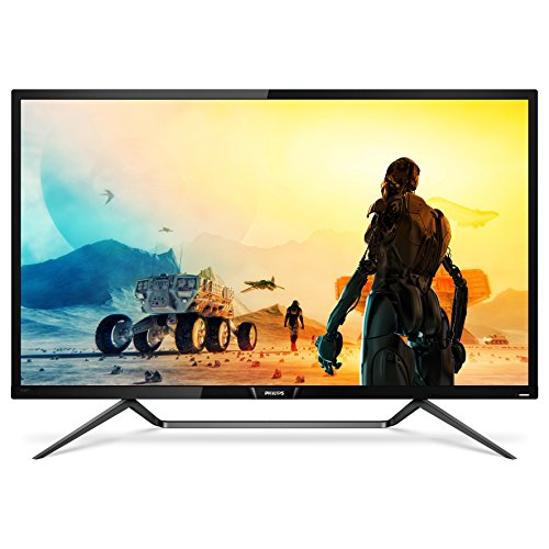 Philips Momentum 436M6VBPAB 43' console gaming monitor, 4K UHD Quantum Dot VA, DisplayHDR1000, MultiView PIP/PBP, USB-C connectivity, VESA, 4Yr Advance Replacement