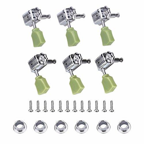 3 coppie di chiavi di accordatura, 3 lato destro e 3 lato si