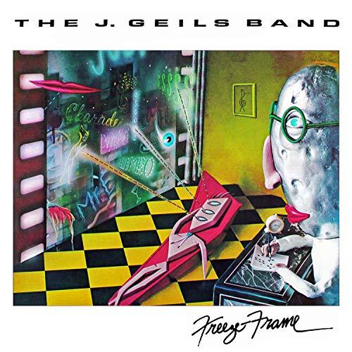 Mint 12'x12' Poster Rare The J. Geils Band: Freeze Frame New Album Cover