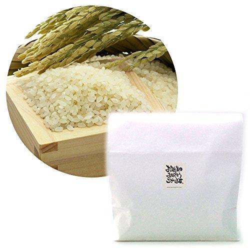 【無洗米】新潟 無農薬コシヒカリ 3kg[お誕生日おめでとうございますシール付き]