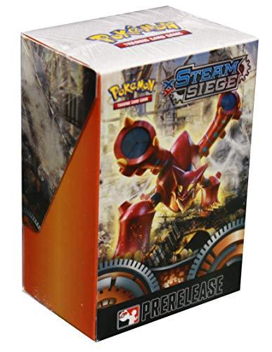 pok Pokemon TCG: XY-Steam Asege Kit de preparación de construcción y batalla