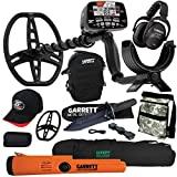 Garrett at MAX Metal Detector with MS-3, Pro-Pointer at Z-Lynk, Carry Bag & More (Pack 1)