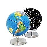 Lzcaure Globus Pure Constellation Leuchtglobus 23 cm für Schule Home and Office
