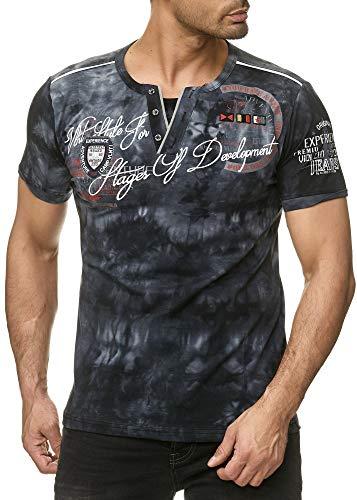 Violento -  T-shirt - Uomo Schwarz Monaco M-Sottile