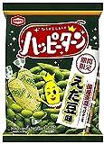 亀田製菓 ハッピーターンえだ豆味 81g×12袋