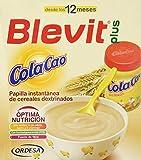 Blevit Plus Cola Cao, 1 unidad 600 gr. A partir de los 12 meses, contiene gluten.