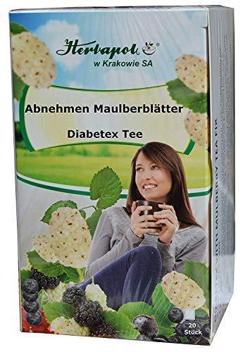 Maulbeerblätter Tee + 3 Kräuter, Stoffwechsel Fettspaltung anregen, 60 Teeb, 90g Kundenfeedback: