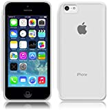 SDTEK iPhone 5c Funda Carcasa Case Bumper Cover Suave Crystal Silicona