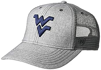 Top of the World West Virginia Mountaineers Kid s Snapback Trucker Snapback Hat Adjustable