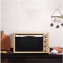 LYQ Funciones de cocción Hornos de Cocina Incluye Parrilla y Bandeja para Hornear Mini Horno con Parrilla,Horno Tostador de Calentamiento rápido de 42 litros,hornos