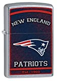 Zippo NFL Lighter Personalized Message Engraved on Backside Windproof Lighter (New England Patriots)