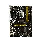DBG BTC Mining Motherboard, GPU Mining Rig 12x GPU Mining TB250-BTC PRO für ETH B250 Motherboard Biostar TB250 BTC