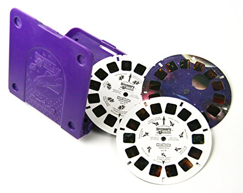 ViewMaster Discovery Channel - Secrets of Space - 3 Reels with Storage Case