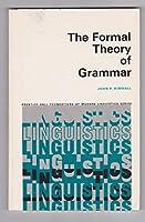 Formal Theory of Grammar