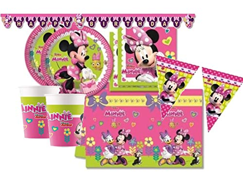 Procos IRPot - Kit N 17 Compleanno Party 40 Persone Minnie Bouquet